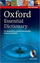 دیکشنری Oxford Essential Dictionary with cd new edition