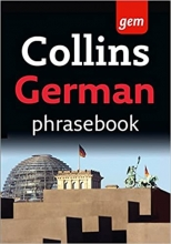 کتاب آلمانی Collins Gem Easy Learning German Phrasebook