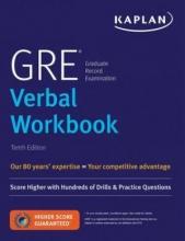 کتاب Kaplan GRE Verbal Workbook: Score Higher with Hundreds of Drills Practice Questions