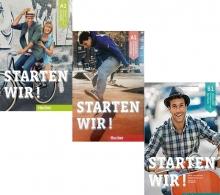 مجموعه سه جلدی آلمانی اشتارتن ویر Starten Wir A1+A2+B1+CD