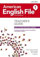 کتاب معلم American English File 1 Teachers Book 3rd Edition