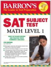 كتاب Barron's SAT Subject Test Math Level 1