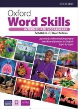 کتاب آکسفورد ورد اسکیلز اینترمدیت ویرایش دوم Oxford Word Skills 2nd Edition Intermediate سایز بزرگ