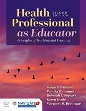 کتاب هلث پروفشنال Health Professional As Educator
