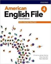 کتاب امریکن انگلیش فایل 4 ويرايش سوم : American English File 3rd Edition