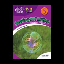 کتاب زبان American Oxford Primary Skills 5 reading & writing+CD