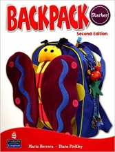 کتاب زبان Backpack Starter Student Book, Work Book + 2CD + DVD