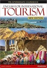 کتاب زبان English for International Tourism: Pre-Intermediate S.B+W.B+CD+DVD