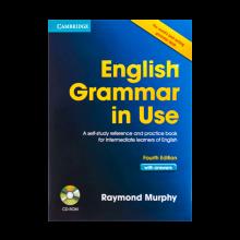 کتاب انگلیش گرامر این یوز بریتیش ویرایش چهارم English Grammar in Use 4th+CD  اثر Raymond Murphy