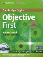 کتاب زبان Objective First (4th) SB+WB+2CD