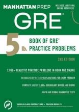 کتاب 5 lb. Book of GRE Practice Problems
