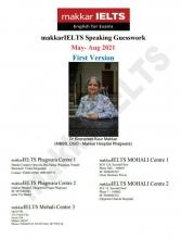 کتاب Makkar IELTS Speaking May - Aug 2021