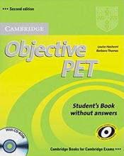 کتاب زبان Objective PET (2nd) S.B+W.B+For school+2CDs