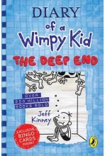 کتاب The Deep End - Diary of A Wimpy Kid 15