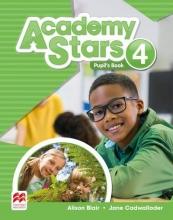 کتاب آکادمی استار Academy Stars 4 (Pupil's Book+W.B)+CD