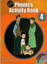 کتاب الی فونیکس اکتیویتی Elly Phonics Activity Book 4 +CD