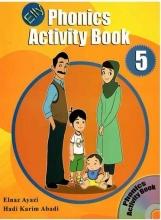 کتاب الی فونیکس اکتیویتی Elly Phonics Activity Book 5 +CD