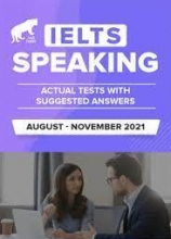 کتاب زبان  آیلتس اسپیکینگ اکچوال آگوست تا نوامبر ۲۰۲۱  IELTS Speaking Actual Aug-Nov 2021
