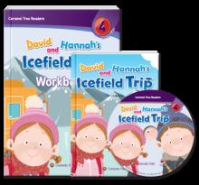 کتاب David and Hannah's Icefield Trip - level 4