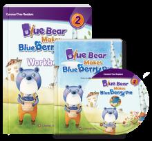 کتاب Blue Bear Makes Blue berry Pie- Level 2
