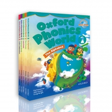 پکیج 5 جلدی آکسفورد فونیکس ورد Oxford Phonics World English
