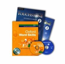 پک کتاب های تاچ استون 2 و ورد اسکیلز بیسیک Touchstone 2 + Oxford Word Skills Basic
