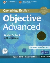 کتاب زبان Objective Advanced 4th Edition: S.B+W.B+ CD