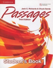کتاب زبان Passages Level 1 (S.B+W.B+CD) 3rd edition