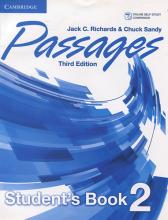 کتاب زبان Passages Level 2 (S.B+W.B+CD) 3rd edition