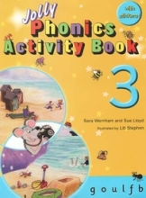 کتاب زبان Jolly Phonics Activity Book 3 +Work book