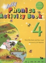 کتاب زبان Jolly Phonics Activity Book 4 +Work book