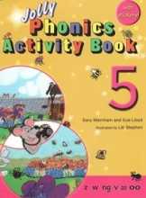 کتاب زبان Jolly Phonics Activity Book 5 +Work book