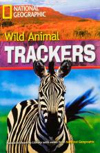 کتاب زبان wild Animal Trackers story+DVD