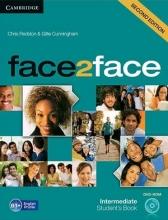 کتاب آموزشی فیس تو فیس اینترمدیت ویرایش دوم face2face intermediate 2nd s.b+w.b+dvd