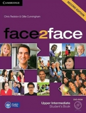 کتاب آموزشی فیس تو فیس face2face upper-intermediate 2nd s.b+w.b+dvd
