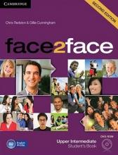 کتاب آموزشی فیس تو فیس آپر اینترمدیت ویرایش دوم face2face upper-intermediate 2nd s.b+w.b+dvd