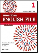 American English File 2nd Edition: 1 (S.B+W.B+2CD+DVD)