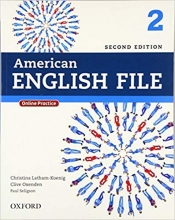 American English File 2nd Edition: 2 (S.B+W.B+2CD+DVD)