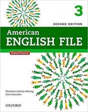 کتاب آموزشی امریکن انگلیش فایل American English File 2nd Edition: 3