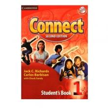 کتاب آموزشی کانکت ویرایش دوم  Connect 1 Students Book, Work Book (2nd) with 2 CD