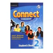 کتاب آموزشی کانکت ویرایش دوم Connect 2 Students Book, Work Book (2nd) with 2 CD