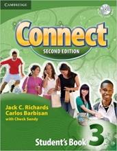 کتاب آموزشی کانکت ویرایش دوم Connect 3 Students Book, Work Book (2nd) with 2 CD
