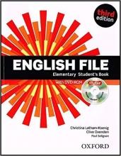 کتاب آموزشی انگلیش فایل (English File Elementary (3rd