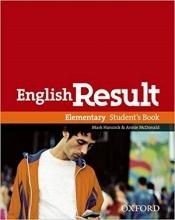 کتاب آموزشی انگلیش ریزالت English Result Elementary Students & Work & Answer Key&CD+DVD سیاه و سفید