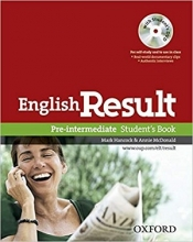 کتاب آموزشی انگلیش ریزالت English Result Pre-intermediate Student & Work & Answer Key&CD+DVD