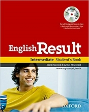 کتاب آموزشی انگلیش ریزالت English Result Intermediate Student & Work & Answer Key&CD+DVD