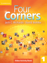 کتاب زبان Four Corners 1 Video Activity book with DVD