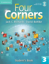 Four Corners 3 Student Book and Work book with CD