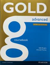 کتاب زبان Gold Advanced Coursebook + Maximiser with Key