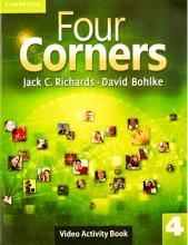 کتاب زبان Four Corners 4 Video Activity book with DVD